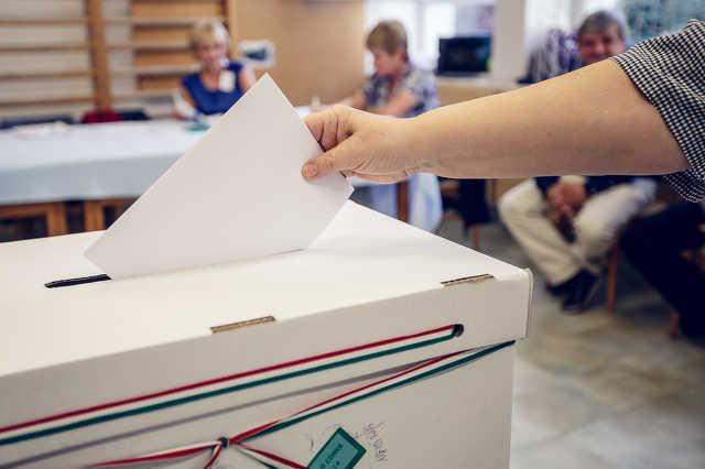 Önkormányzati választás a 64. szombathelyi szavazókörben