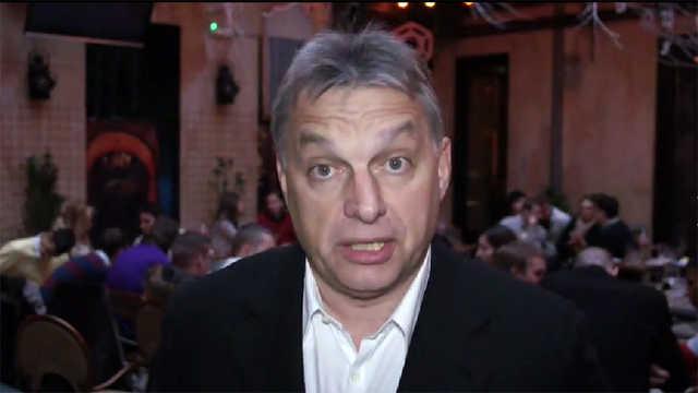 Orbán Viktor keretszám