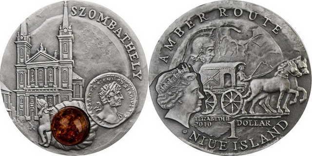 Niue-i egydolláros érme (ezüst)