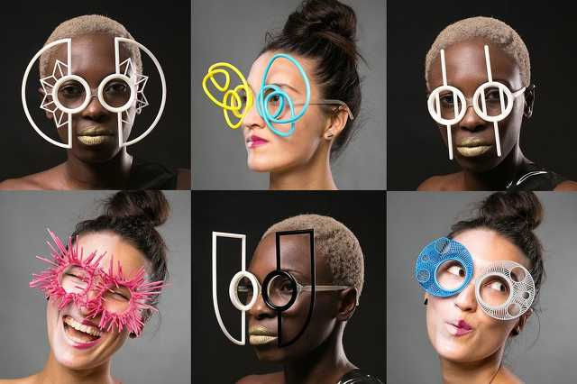 3D nyomtatott szemüvegek
