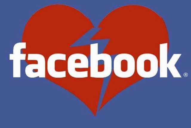 Facebook szakítás
