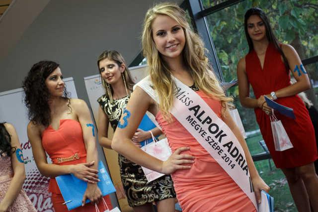 Miss Alpok Adria-Vas Megye Szépe 2014