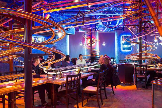 Hullámvasút étterem