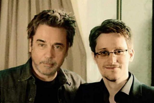 Edward Snowden és Jean-Michel Jarre↑