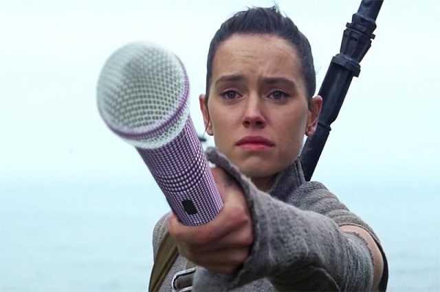 Luke énekel