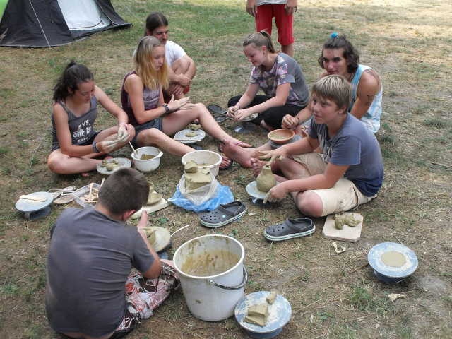 Szőcei szénagyűjtő tábor