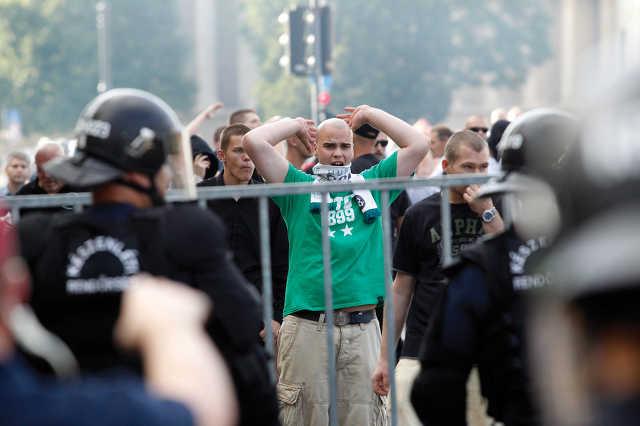 Budapest Pride - Ellentüntetők