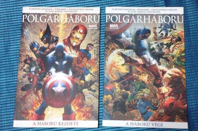 Marvel - Polgárháború 1-2