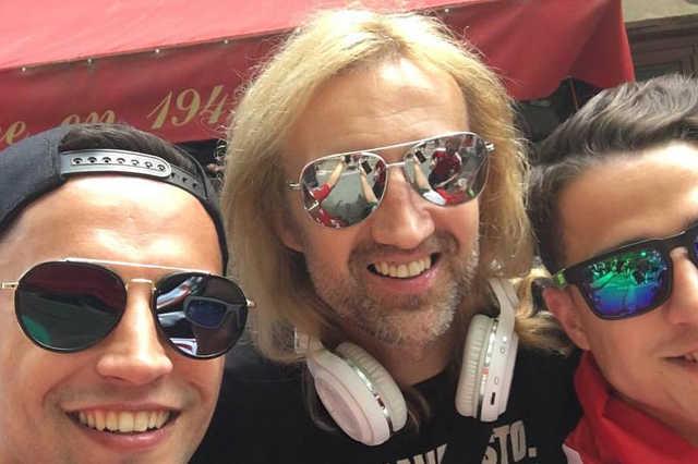 A nagy találkozás David Guettaval :))