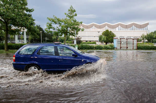 Így pusztított a vihar Szombathelyen