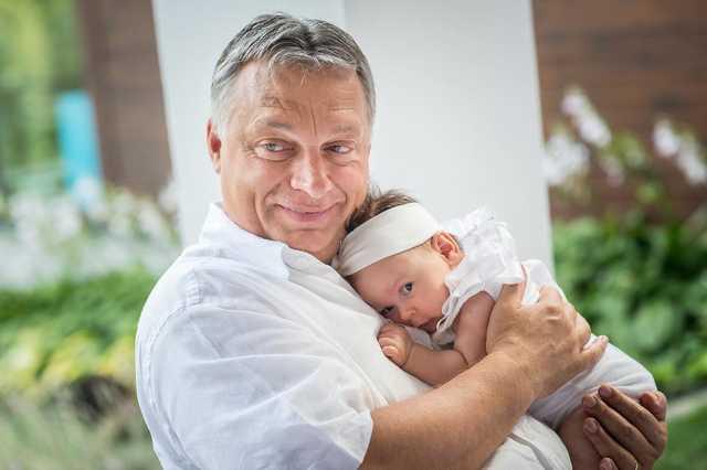 Orbán Viktor és Alíz