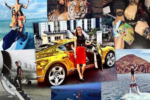 Az Instagram gazdag kölykei