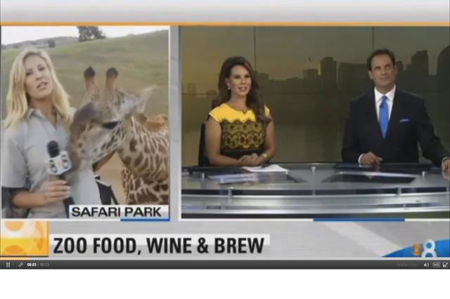zsiráf és a riporternő