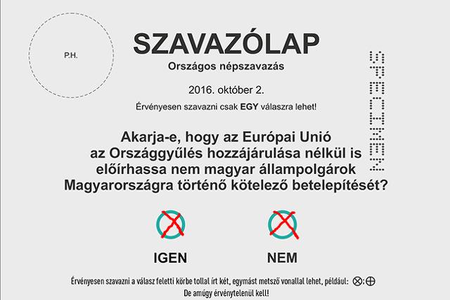 Érvénytelen szavazólap