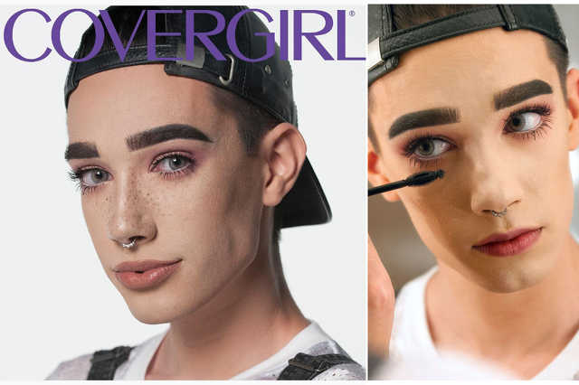 James Charles - Covergirl