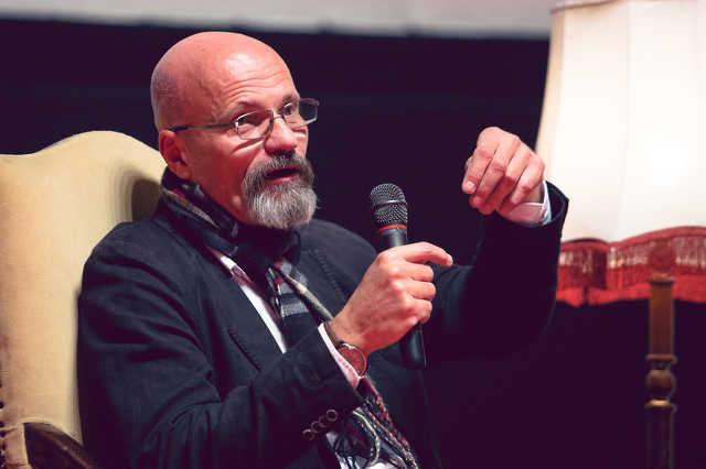 Zacher Gábor a Szombathelyi Polgári Esték vendégeként