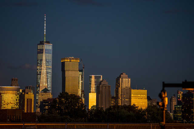 Igy nyugszik le a nap New York-ban