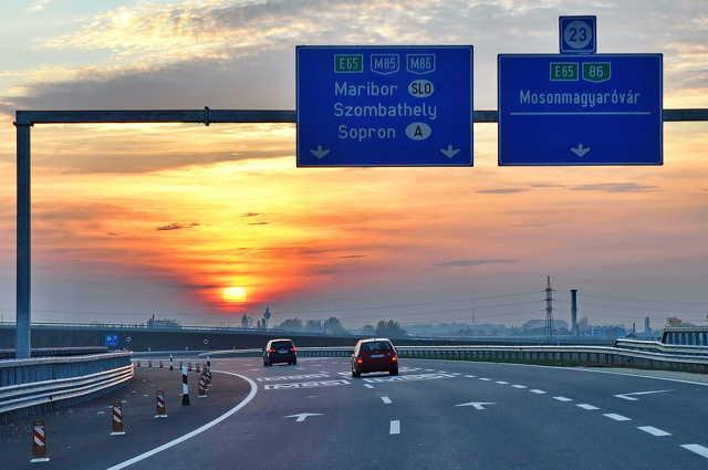 M86 (M85) autóút Szombathely - M1 autópálya közötti szakasz