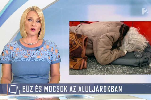 A TV2 nekiment a hajléktalanoknak