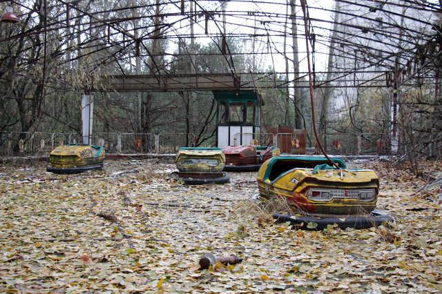 A csernobili atomerőmű és környéke