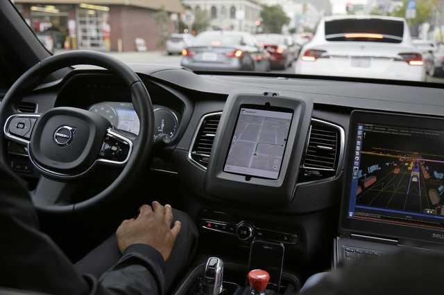 Az Uber önvezető autói San Franciscóban