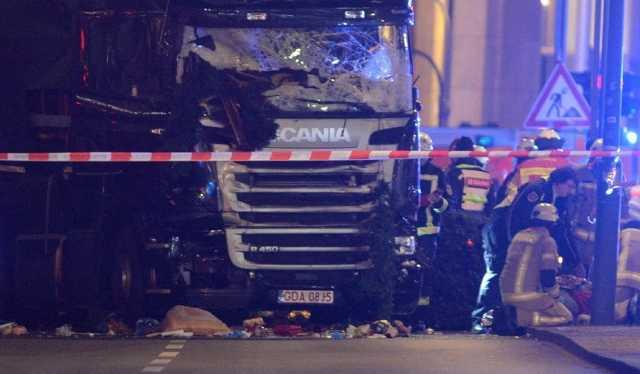 Berlini kamionos támadás