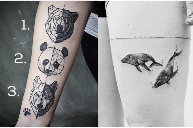 Állati tetoválások