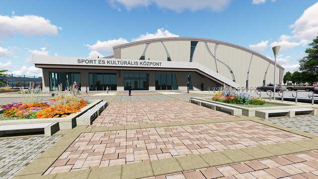 A leendő Sport- és Kulturális Központ látványtervei