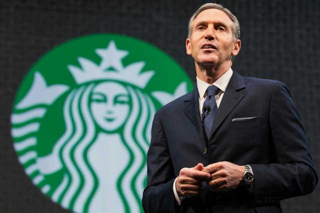 Howard Schultz, a Starbucks vezérigazgatója