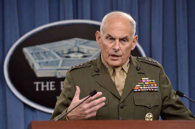 John Kelly, Donald Trump belbiztonsági minisztere