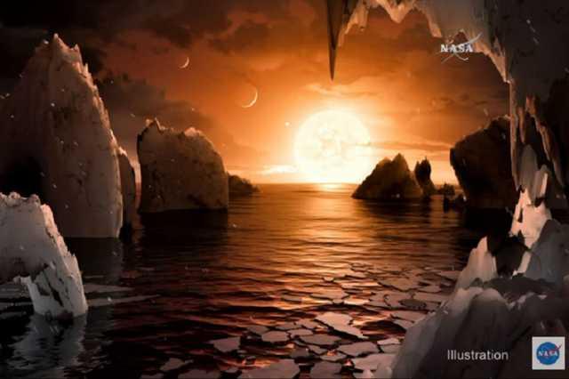 Hét exobolygó a közeli naprendszerben