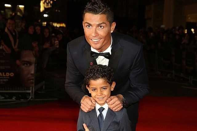 Cristiano Ronaldo és Cristiano Jr.