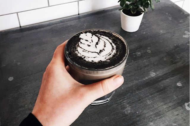 Szenes kávé