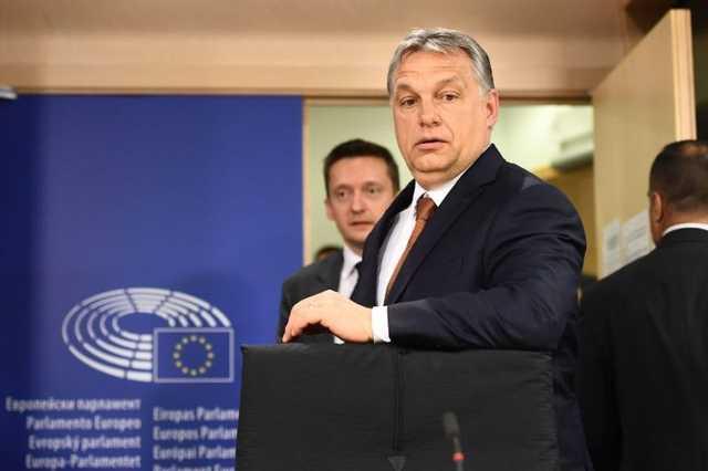 Orbán Viktor az Európai Parlamentben