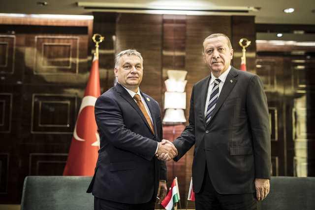 Orbán Viktor és Recep Tayyip Erdogan