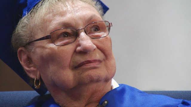 Megszerezte érettségijét a Holokauszt-túlélő