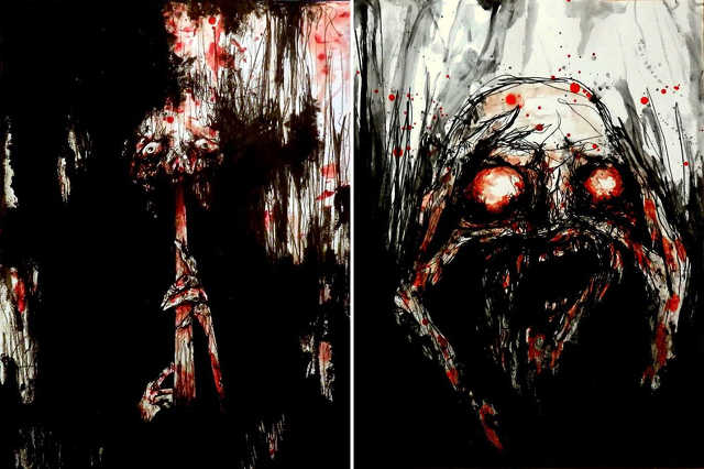 Véres művészet