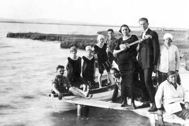Gárdony, Velencei-tó, 1927.