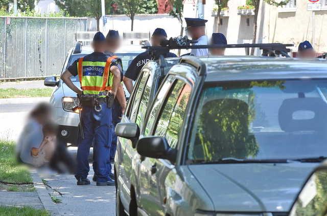 Szexuális zaklató miatt lepték el a rendőrök a Casino környékét Szombathelyen
