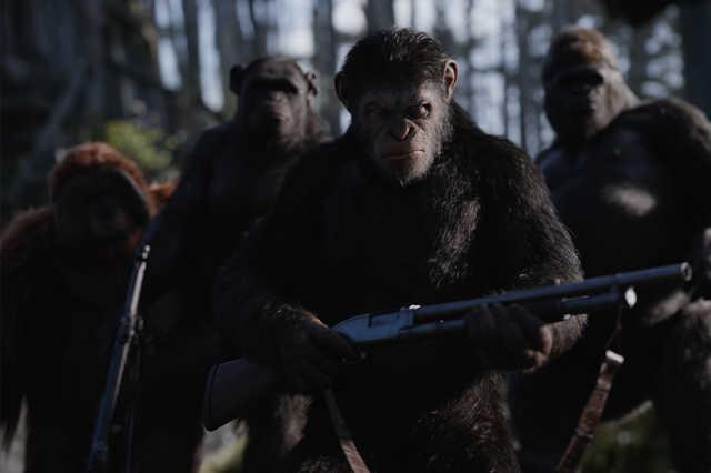 Majmok bolygója: Háború