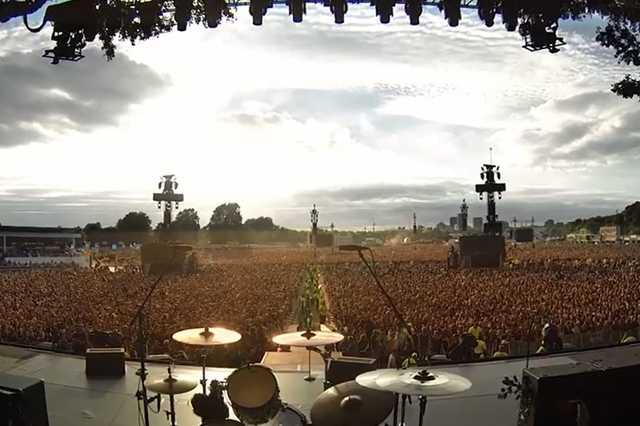 Green Day koncert a Hyde Parkben