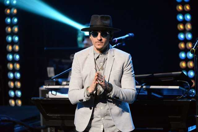 Chester Bennington, a Linkin Park énekese
