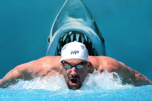 Phelp Vs. Shark