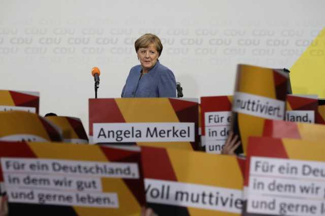 Angela Merkel a választások után