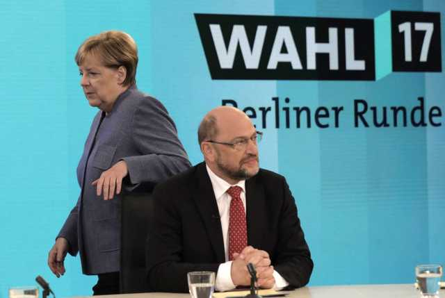 Angela Merkel és Martin Schulz - Nem lesznek partnerek