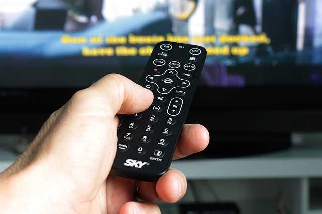 Tévé, tv, televízió, távirányító,