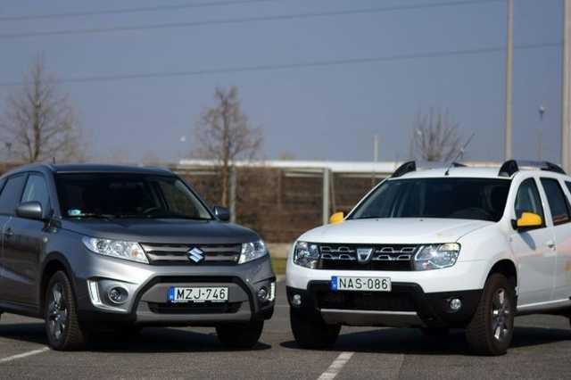 Suzuki Vitara és Dacia Duster
