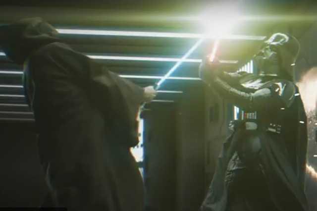 Darth Vader és Obi van Kenobi párbaja