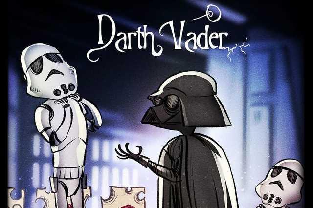 Így nézne ki a Star Wars, ha Tim Burton rendezte volna