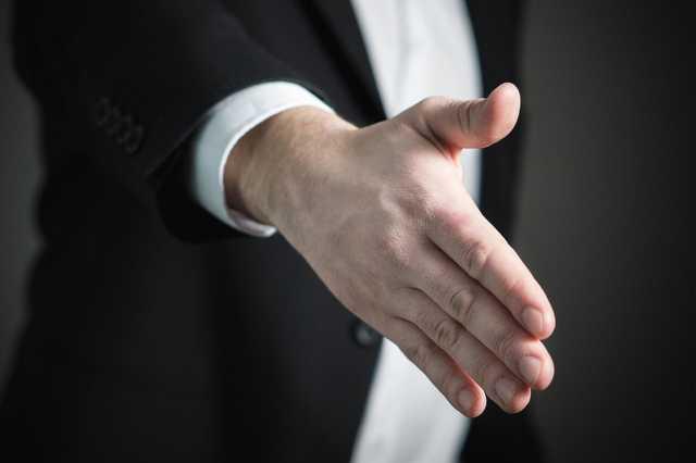 kézfogás, kéz